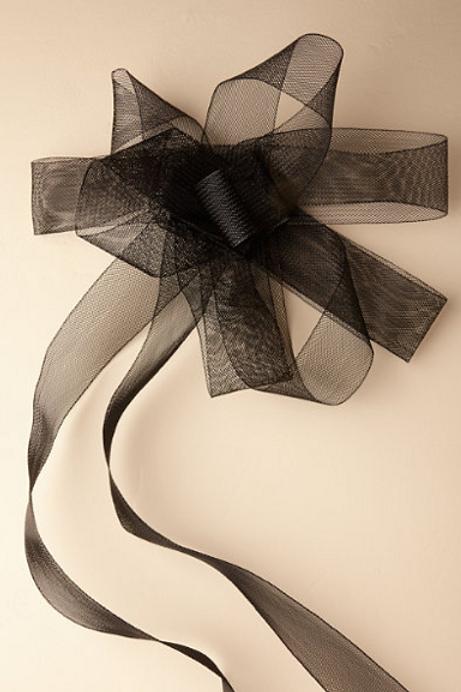 Horsehair Ribbon Sash
