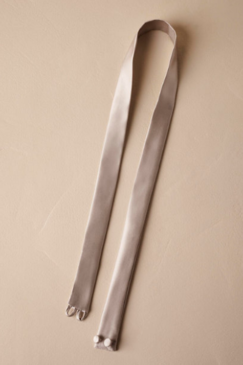 Fitted Silk Sash