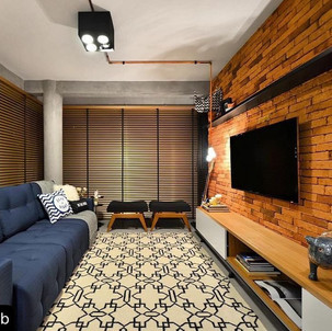 Sala de estar - Fatto a Mano Rosso