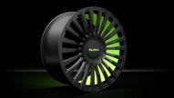 MCS-TrackSpec®   Lime Green & Beluga Black.