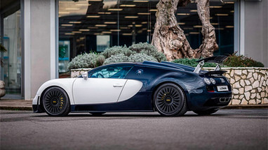 Three Piece Wheels | Bugatti Veyron rear.