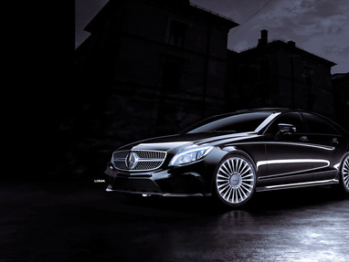 Mercedes Benz CLS 550 Custom Forged Rims.