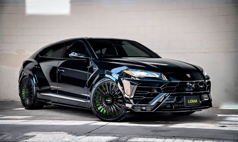 Lamborghini Aftermarket Custom Forged Wheels.