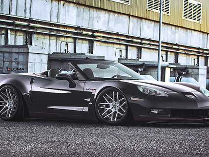 C6 Corvette Wide Body Kit Convertible.