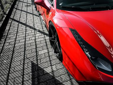 Ferrari 488 Custom Forged Wheels.