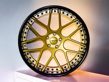 13 years ago, this was our first Custom Wheel design.