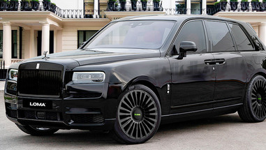 Three Piece Wheels | Rolls Royce Cullinan.