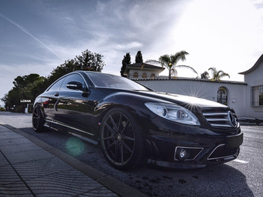 Mercedes CL550 AMG Custom Forged Wheel Rims Tire Packages.