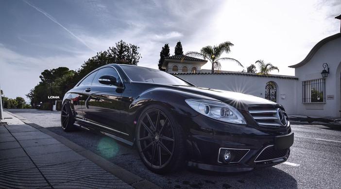 Mercedes CL550 AMG.