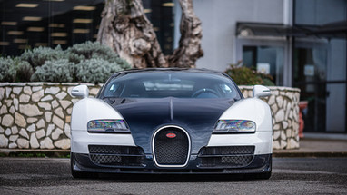 Three Piece Wheels | Bugatti Veyron front.