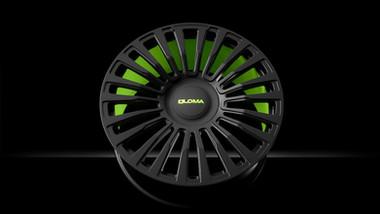 MCS-TrackSpec® | Lime Green & Beluga Black.