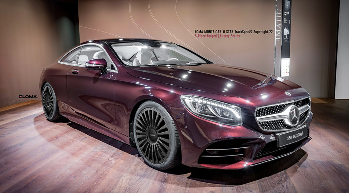 Mercedes S550 Coupe.