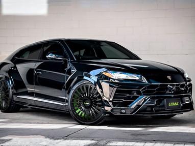 Lamborghini Urus 24-Inch Wheels.