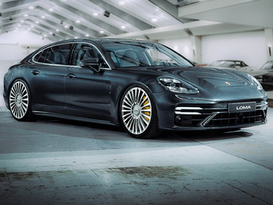 Porsche Panamera Custom Forged Wheels.
