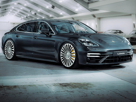 PORSCHE PANAMERA CUSTOM WHEELS.