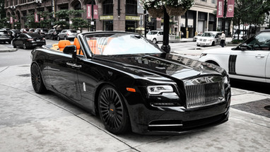 Three Piece Wheels | Rolls Royce Dawn.
