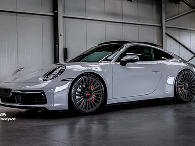 Porsche 992 Carrera Custom Forged Wheel Rims.