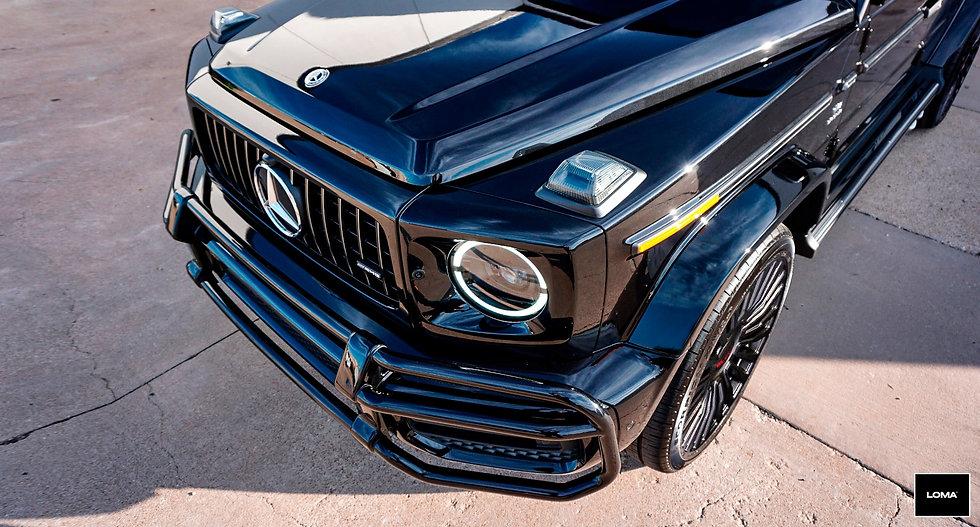 Mercedes G Class Custom Wheels.