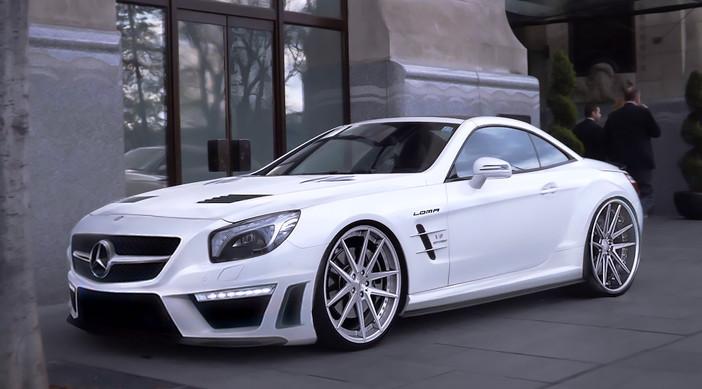 Mercedes SL63 aMG.