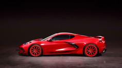Corvette Aftermarket Wheels Rims. Pic-1