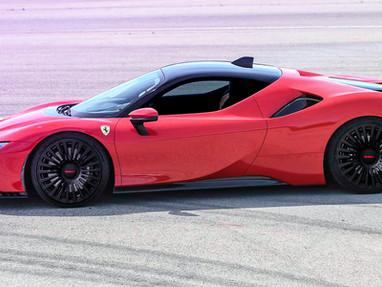 Ferrari SF90 Stradale Custom Forged Wheel Rims.