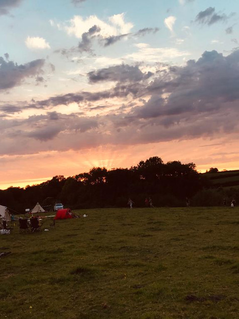 Glamping at Bruton Meadow