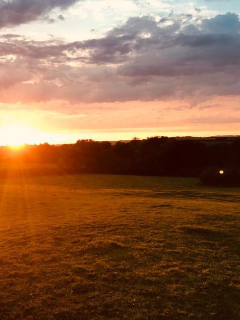 Sunset at The Stone Circle