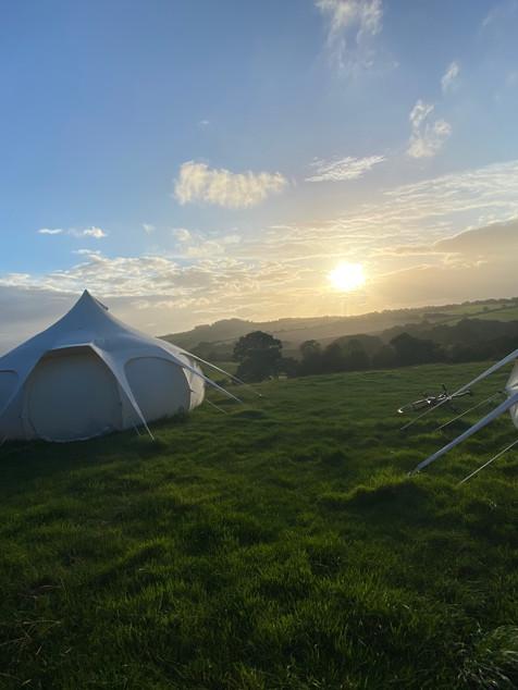 Luxury 5m Bell Tent