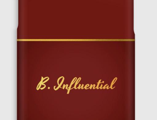 Case iPhone Xs B.Influential