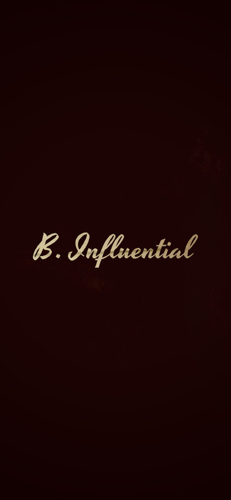 B.Influential Wallpaper | Chris TDL