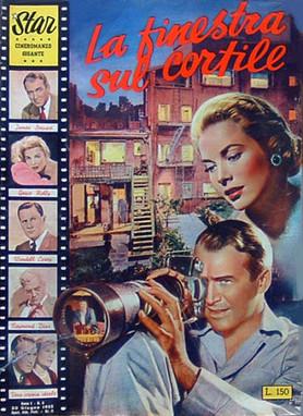 """""""La ventana indiscreta"""" de Alfred Hitchcock como Cineromanzo. La adaptación como transmedi"""