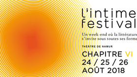 "Jan Baetens at ""l'intime festival"""