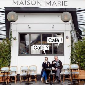 """""""Le Café Matinal avec Jan Baetens chez Maison Marie"""""""