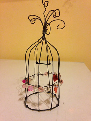 decorative birdcage (beads)