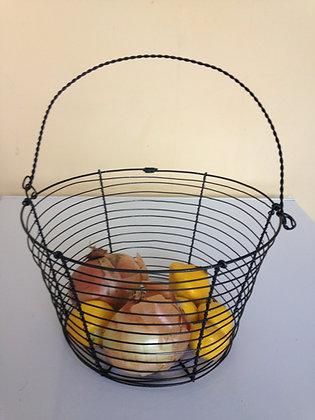 Contemporary shape basket/fruit bowl
