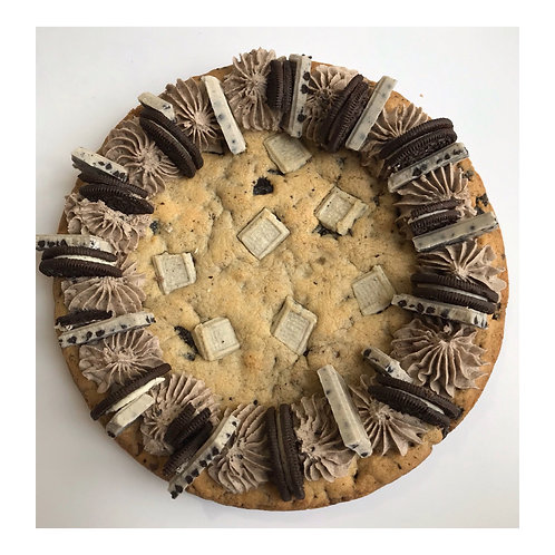 Cookies and Cream Cookie Cake