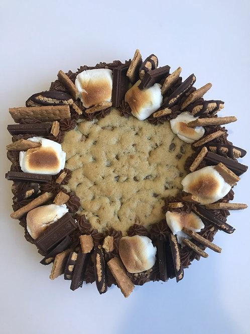 Smores Cookie Cake