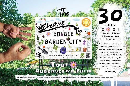 The Edible Garden City Tour: Queenstown Farm