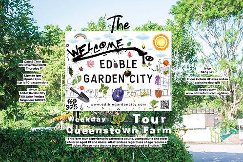 The Edible Garden City Weekday Tour: Queenstown Farm (05.11.20)