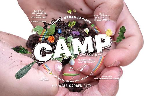 CAMP Junior Urban Farmer OCTOBER Children's Day Special (09.10.20)