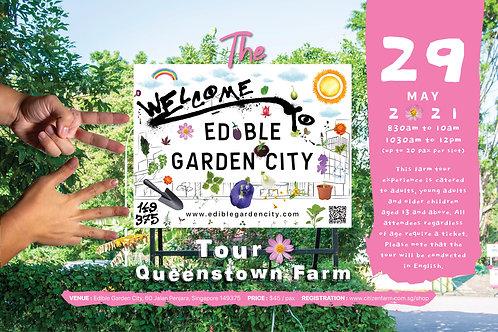 The Edible Garden City Tour: Queenstown Farm (29.05.21)