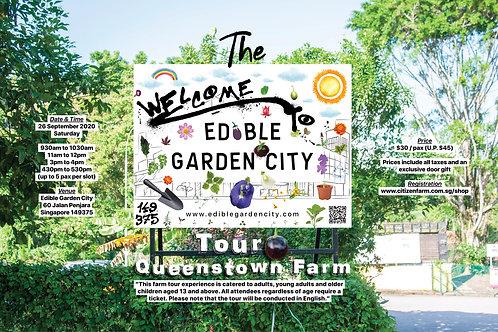 The Edible Garden City Tour: Queenstown Farm (26.09.20)