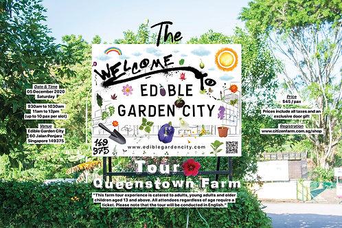The Edible Garden City Tour: Queenstown Farm (05.12.20)