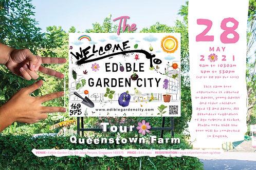 The Edible Garden City Tour: Queenstown Farm (28.05.21)