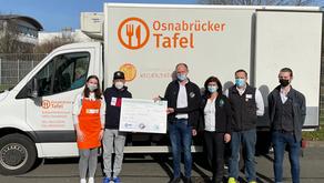 """Combi-Kunden halfen der Osnabrücker Kindertafel """"pfandtastisch"""""""