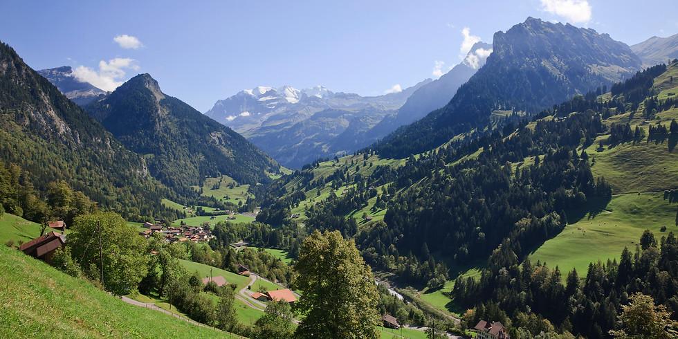 Yoga Wochenende Retreat im Berner Oberland