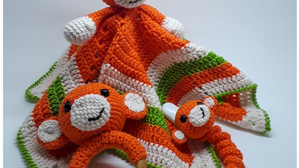 Kit baby macaco