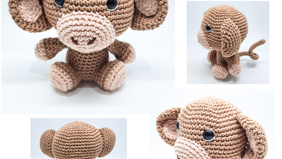 Amigurumi Macaco Baby
