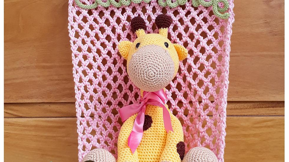 Girafa na rede