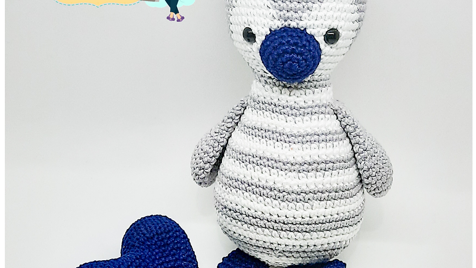 Pinguim com coração